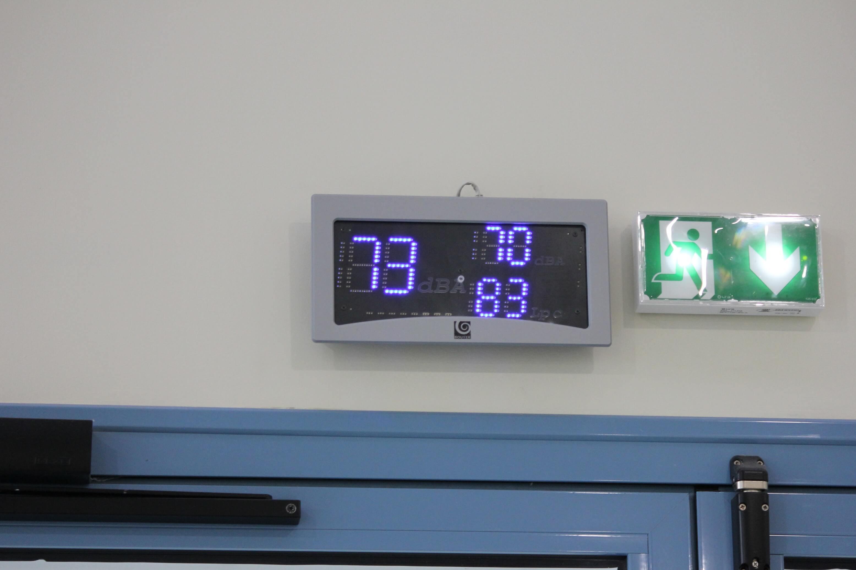 Appareil de mesure de decibels