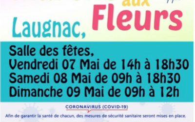 Marché aux fleurs du 07 au 09 mai 2021